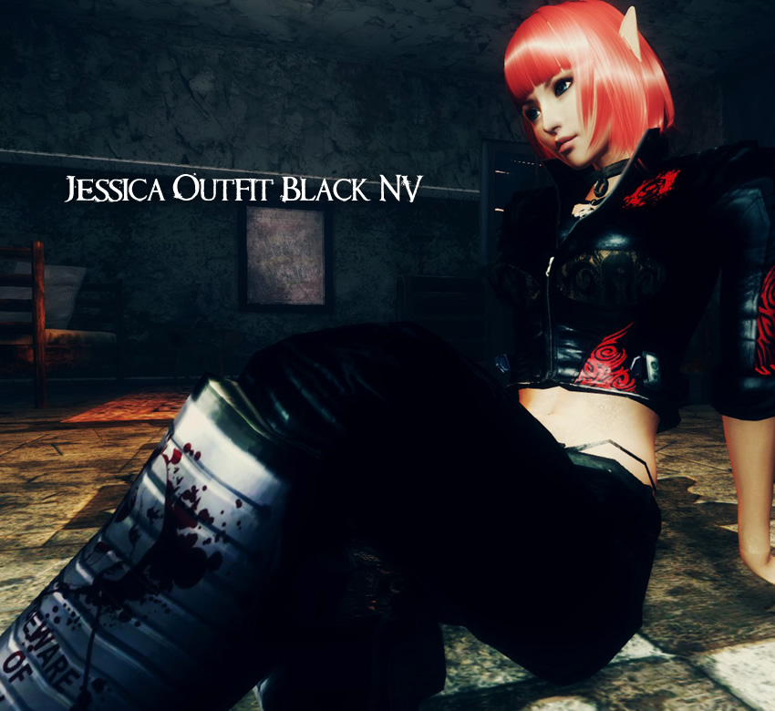 Jessica Outfit Black NV