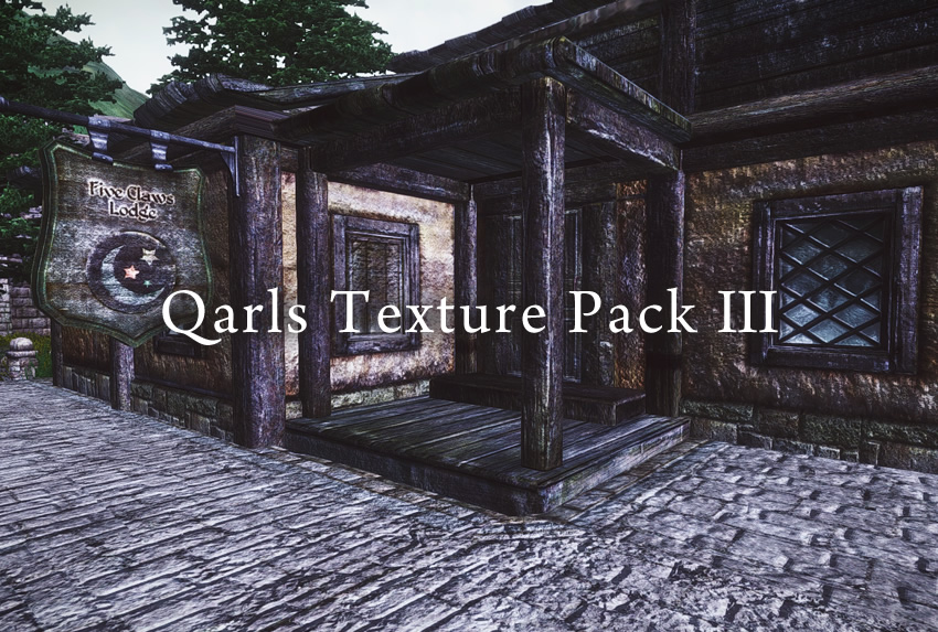 Qarls Texture Pack III Full v1.3 OMOD