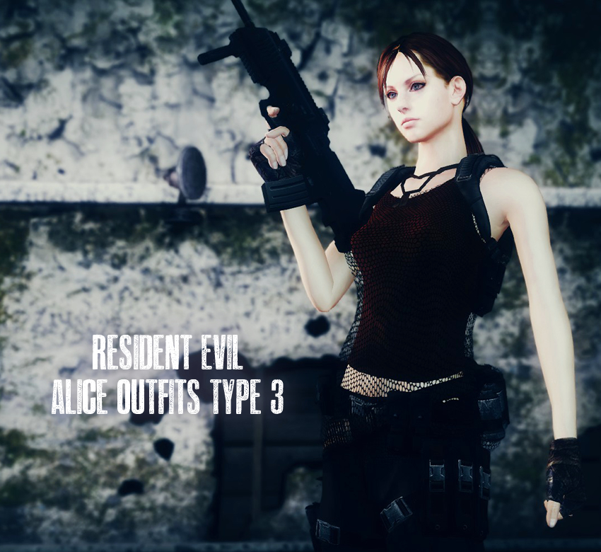 Resident Evil Alice Outfits Type 3