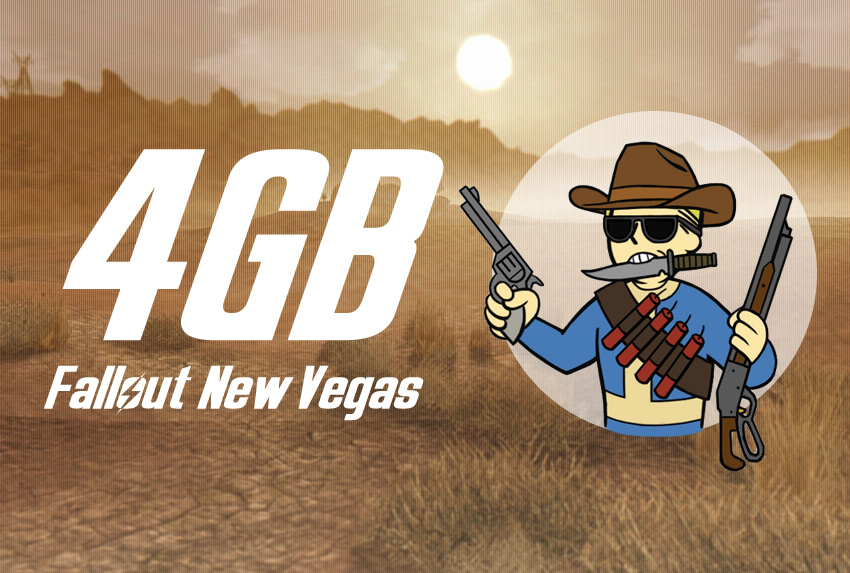 4GB Fallout New Vegas Updated