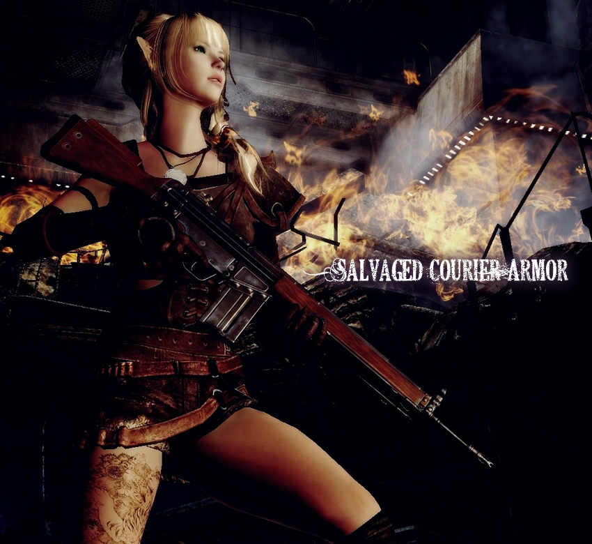 Salvaged Courier Armor – Type6