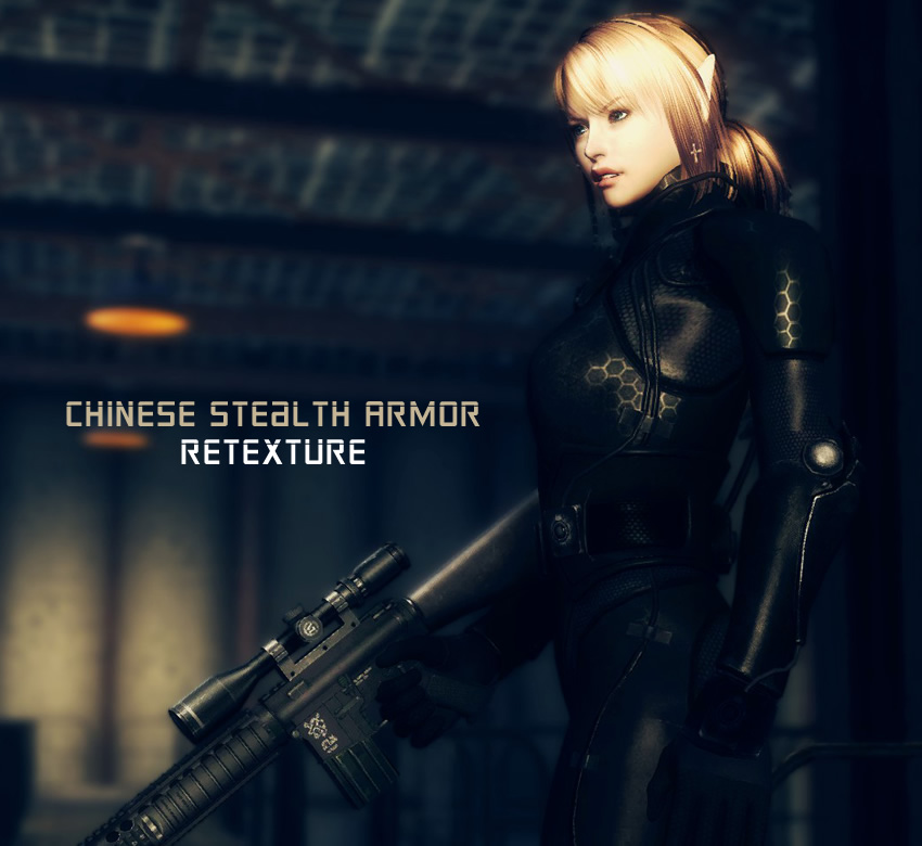 Chinese Stealth Armor Retexture