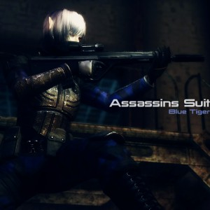 Assassins Suit – Blue Tiger
