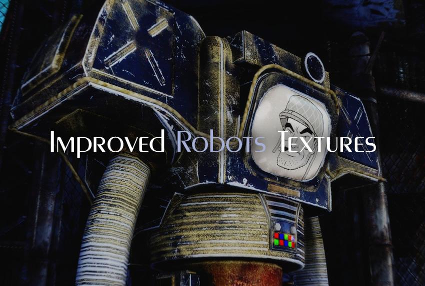 Improved Robots Textures