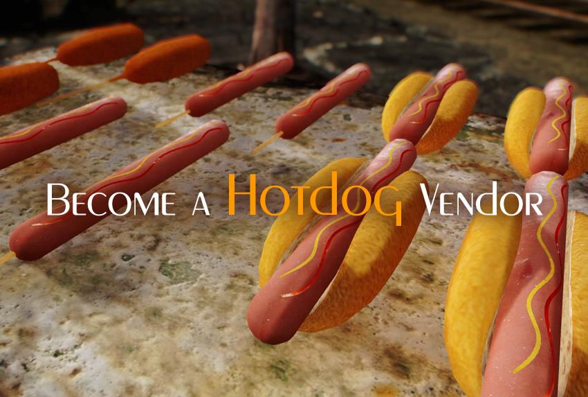 Become a Hotdog Vendor