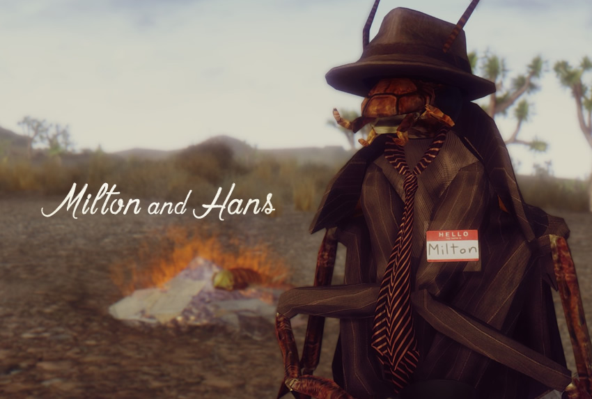Milton and Hans