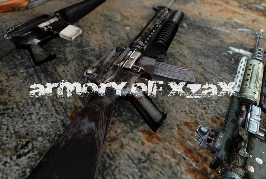 Armory of Xzax – M16 Etc