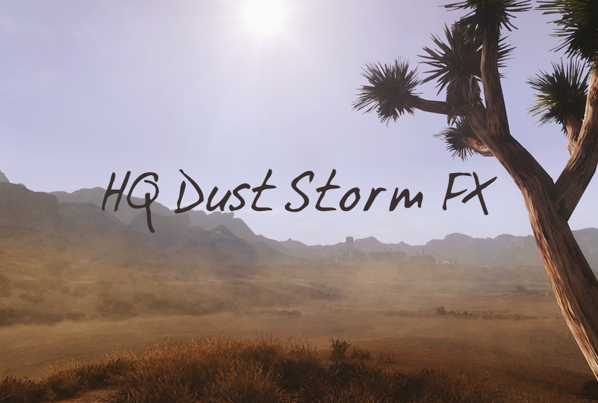 HQ Dust Storm FX