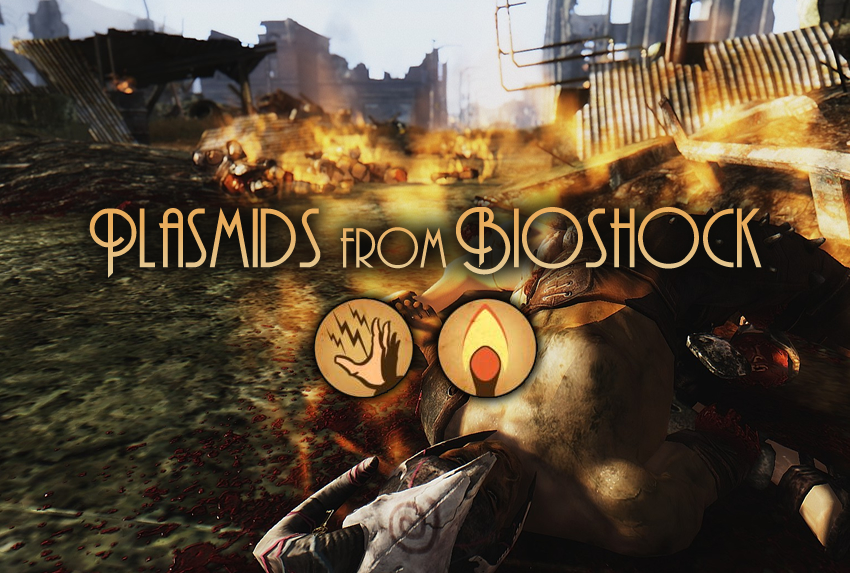 Plasmids from Bioshock