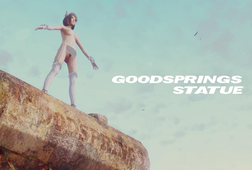 Goodsprings statue