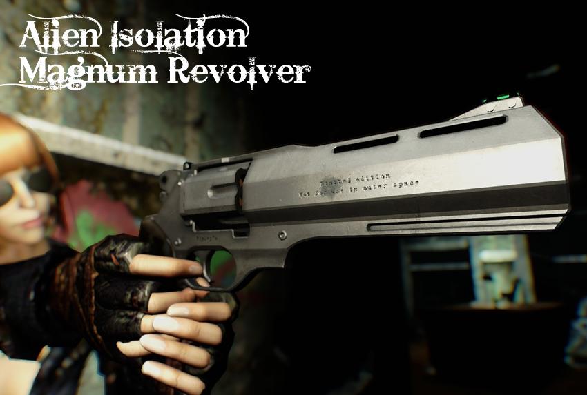 Alien Isolation – Magnum Revolver