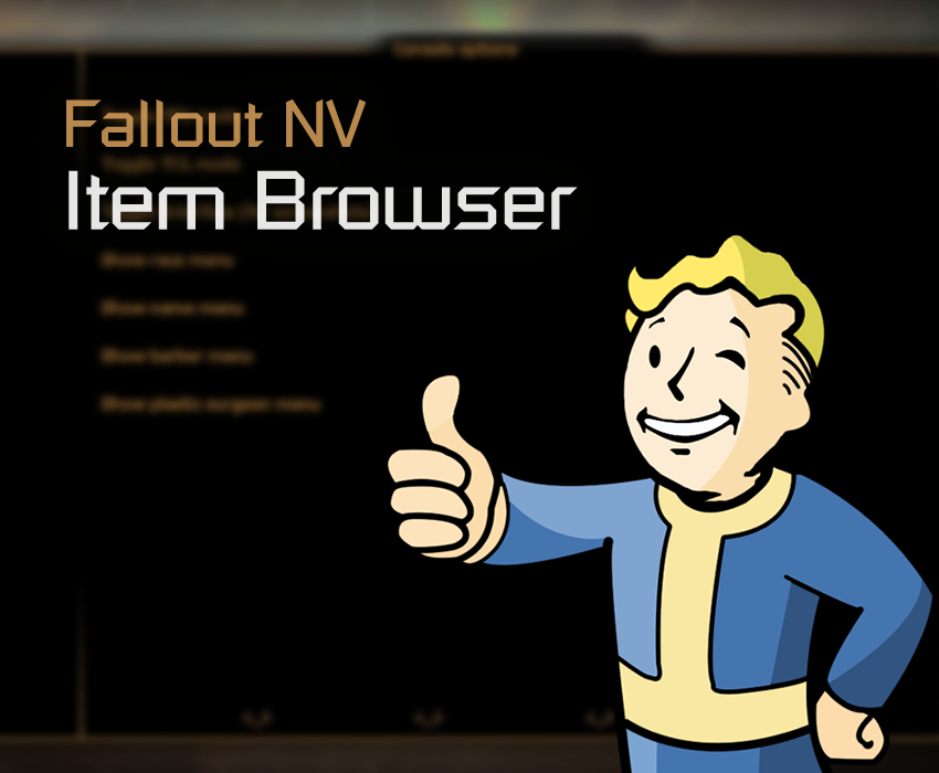 Fallout NV Item Browser