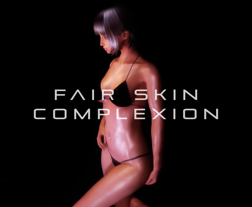 Fair Skin Complexion