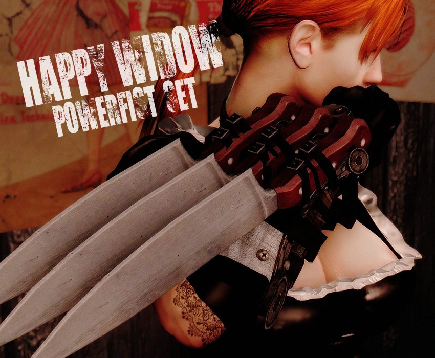 HAPPY WIDOW POWERFIST SET