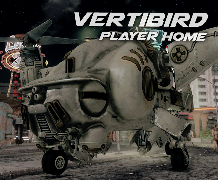 Vertibird Player Home