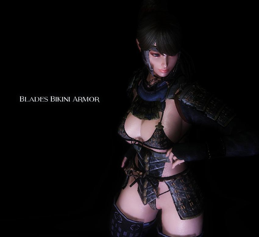 Blades Bikini Armor