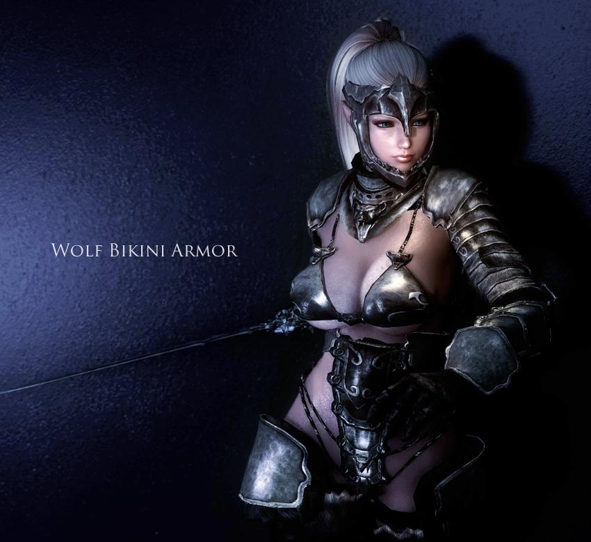 Wolf Bikini Armor