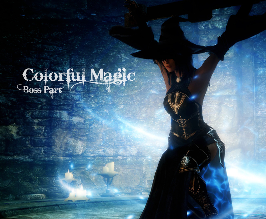 Colorful Magic:ボス編