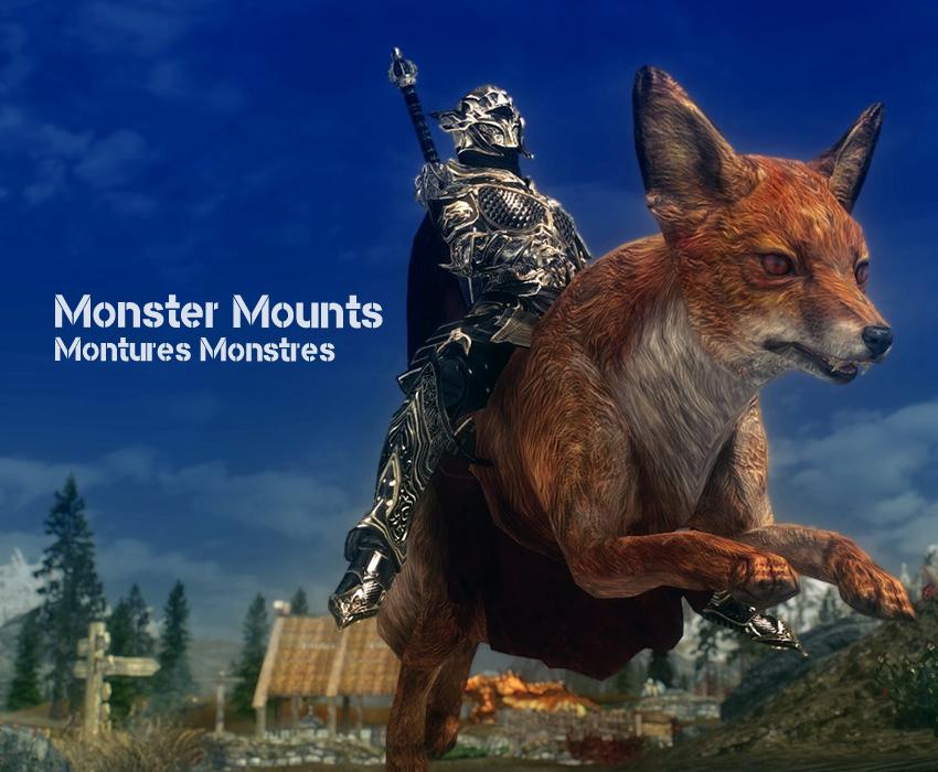 Monster Mounts – Montures Monstres