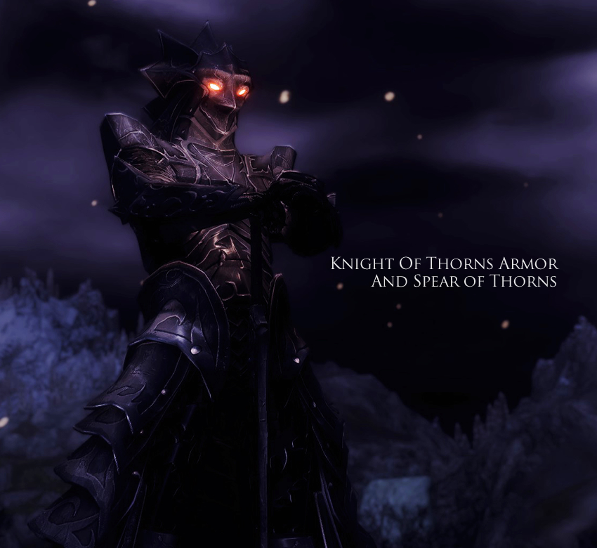 Knight Of Thorns Armor And Spear of Thorns