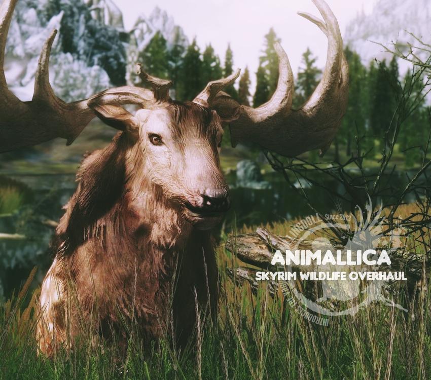 Animallica – Skyrim Wildlife Overhaul
