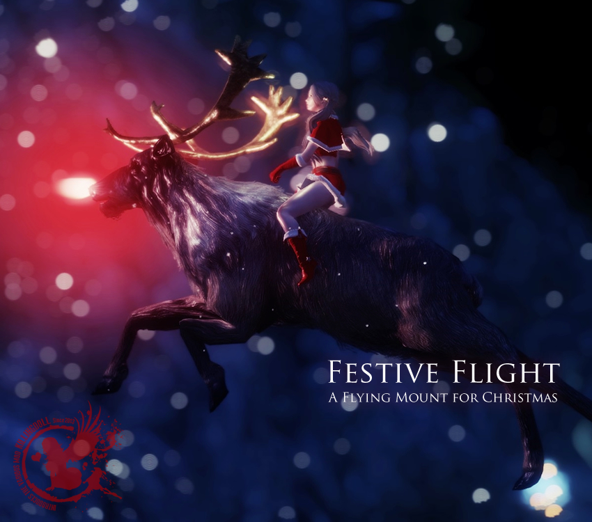 Festive Flight – A Flying Mount for Christmas