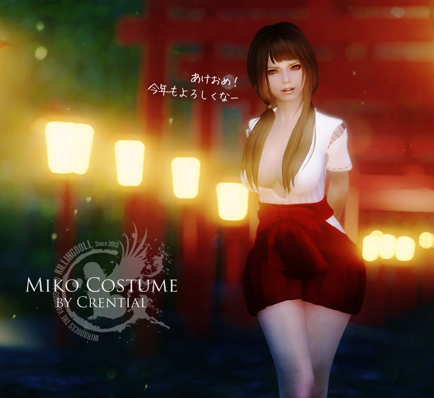 Miko Costume by Crential