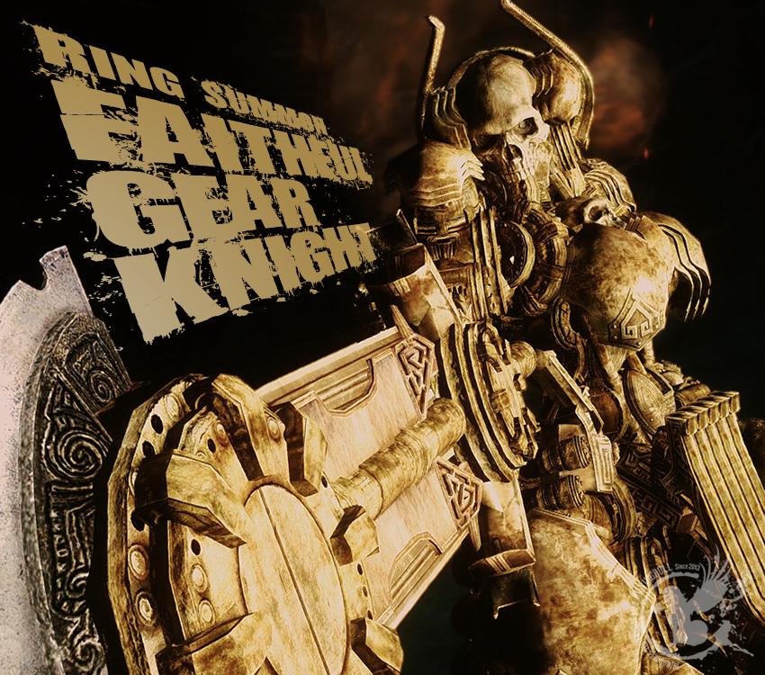 Ring Summon Faithful Gear Knight