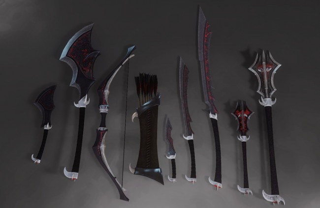 CLs-Daedric-Weapons06