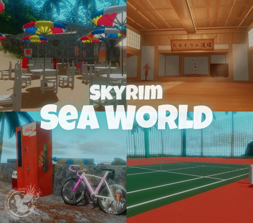 Skyrim Sea World