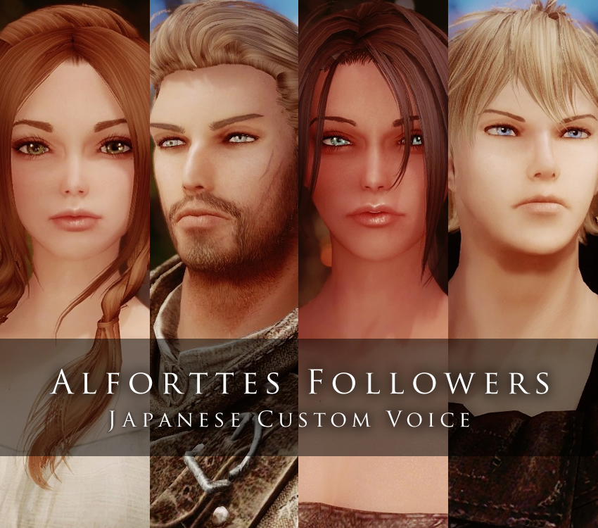 Alforttes Followers(JP Custom Voice)