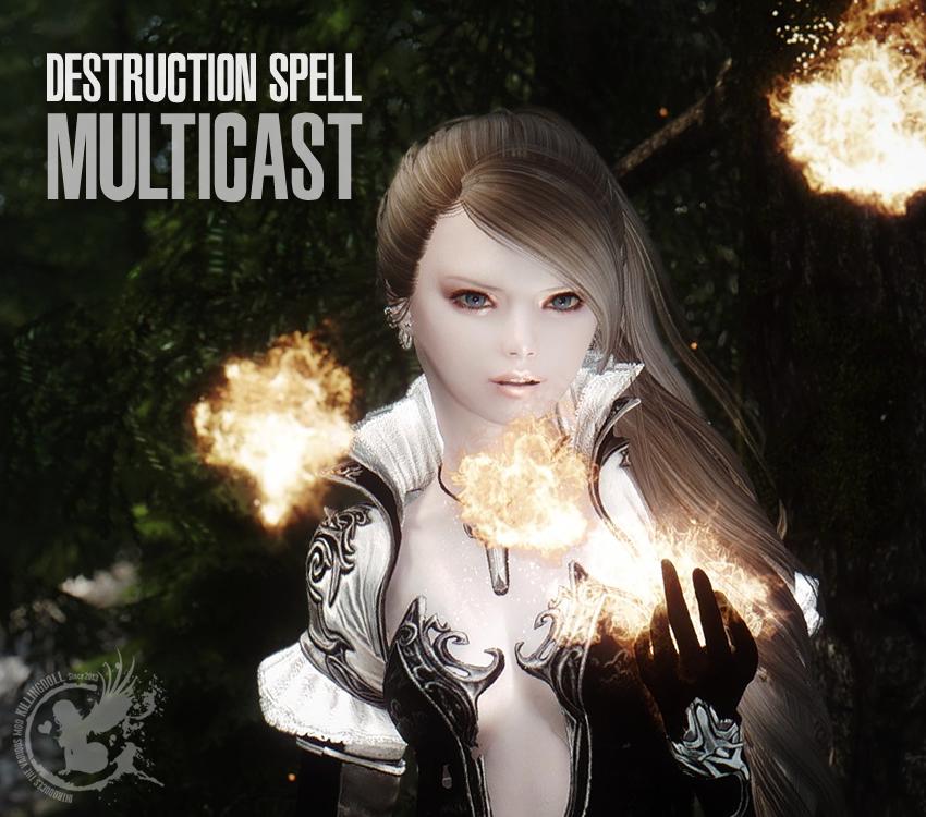 Destruction Spell Multicast