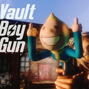 Vault Boy Gun (NSFW)