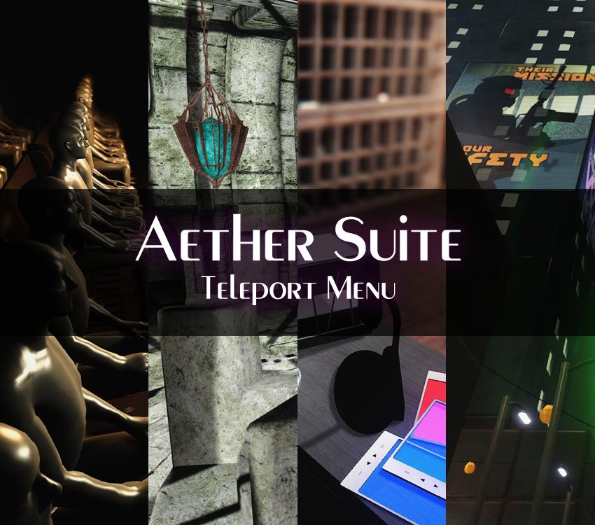 Aether Suite Teleport Menu