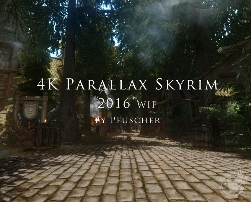 Skyrim 2016 WIP by Pfuscher