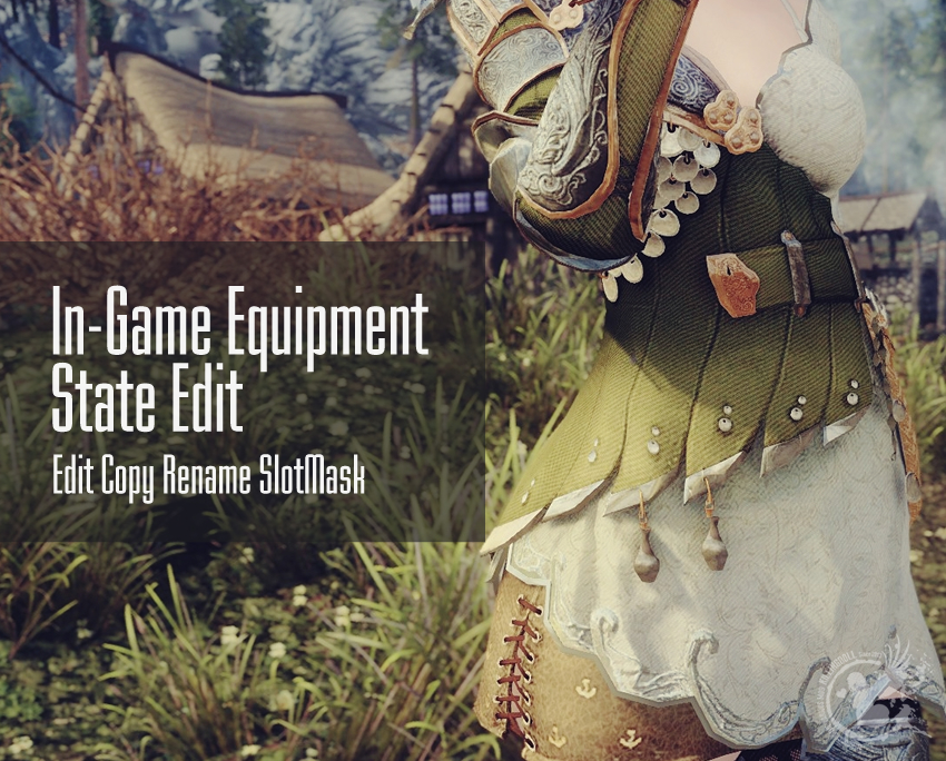 In-Game Equipment State Edit