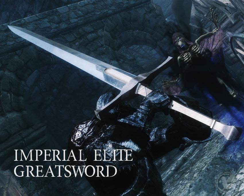 Imperial Elite Greatsword