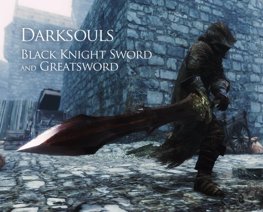 Dark Souls – Black Knight Sword and Greatsword