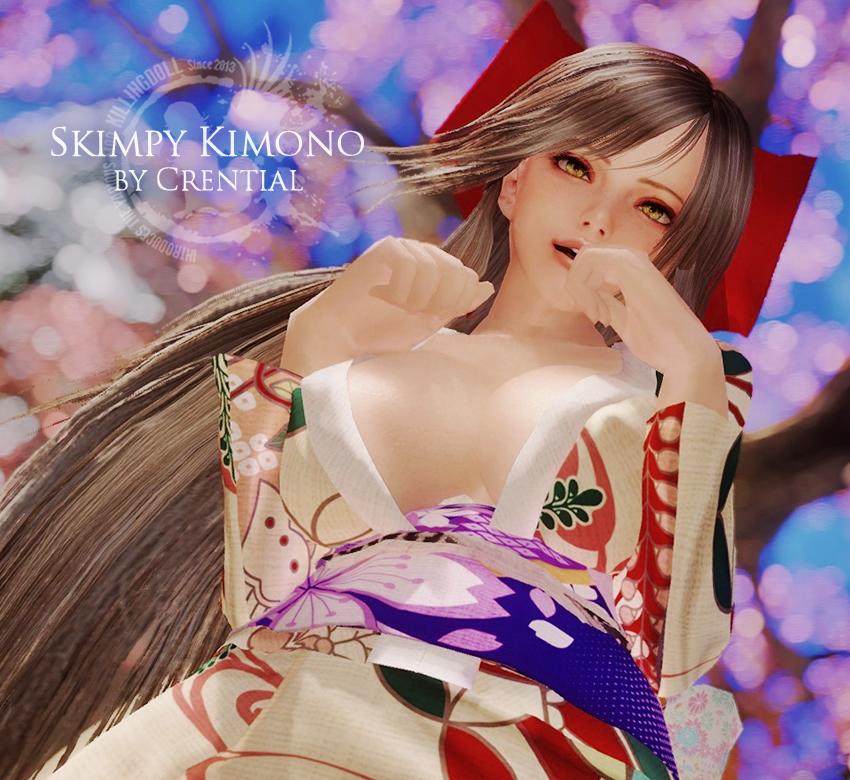 Skimpy Kimono by Crential