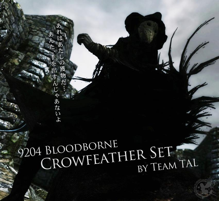 9204 Bloodborne Crowfeather Set by Team TAL