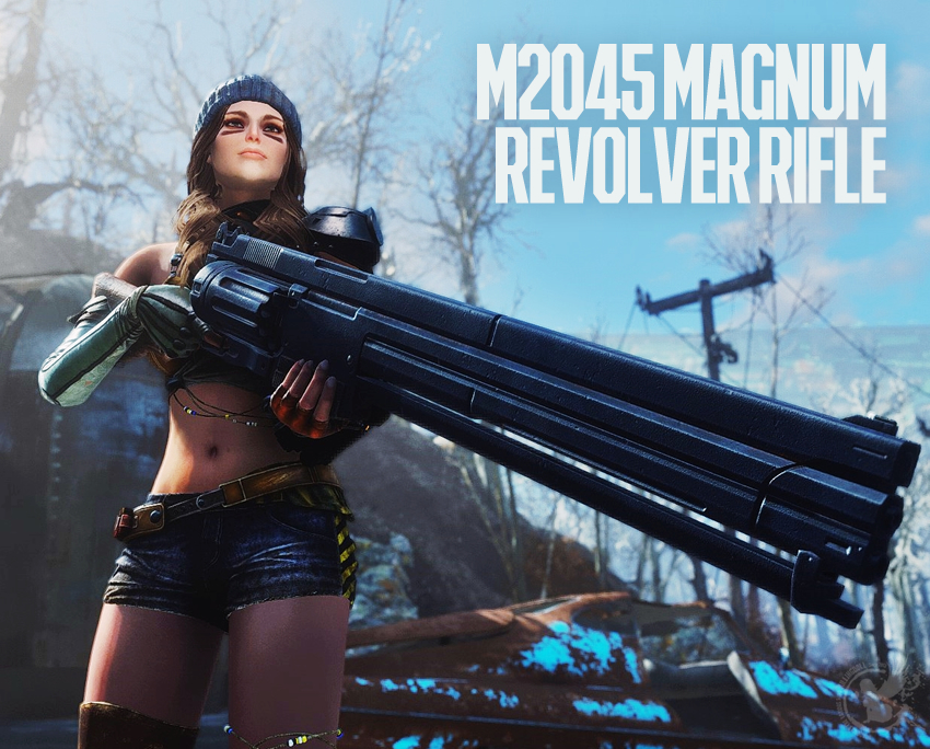 M2045 Magnum Revolver Rifle