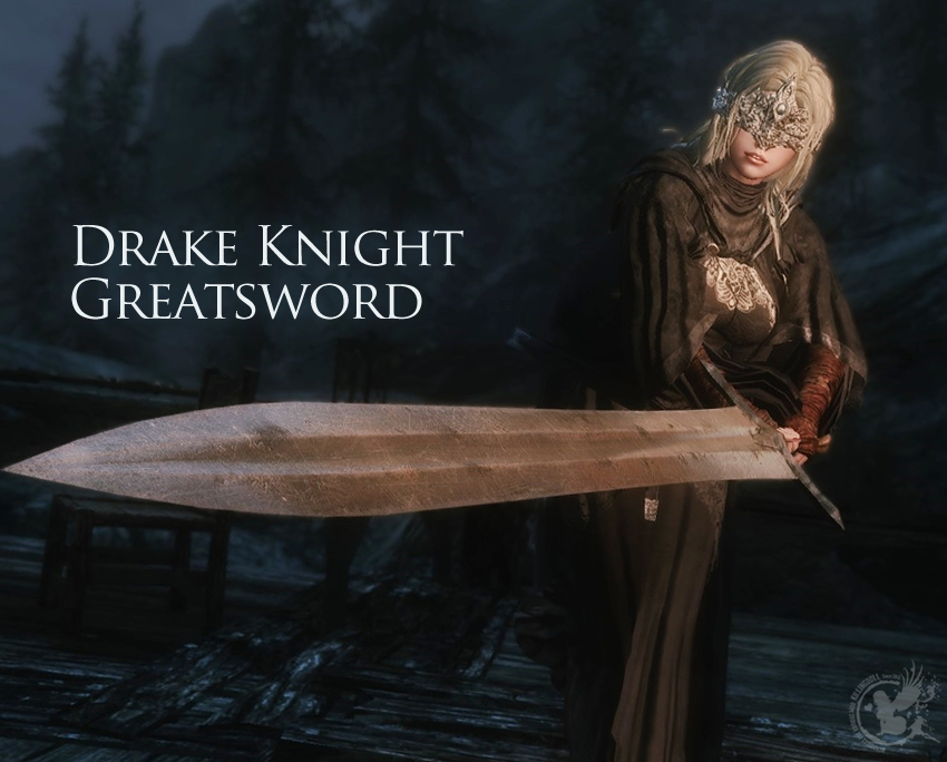 Drake Knight Greatsword