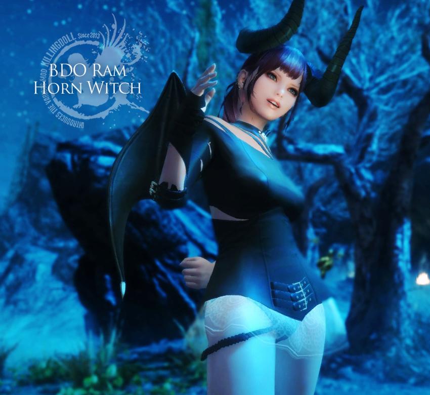 BDO Ram Horn Witch
