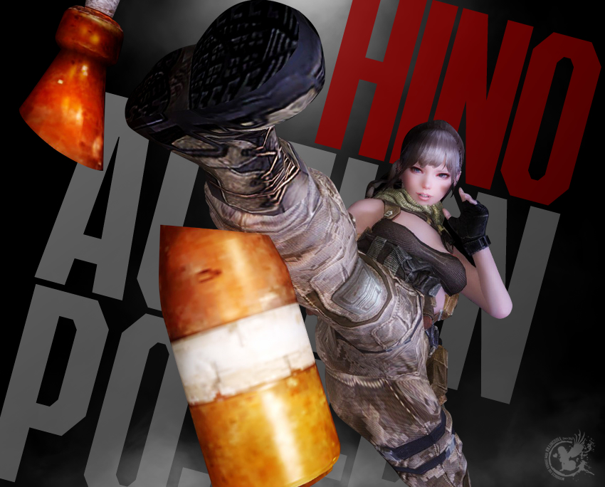 Hino Action Pose