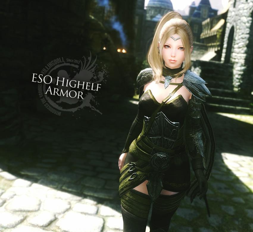 ESO Highelf Armor